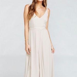 Jenn Maxi Dress - Show Me the Ring Crisp